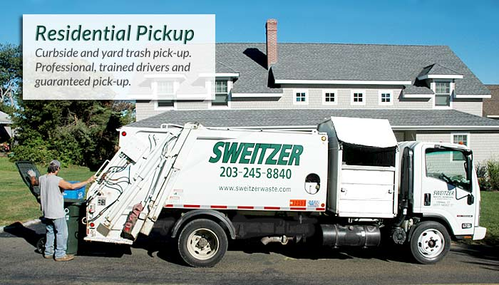 Residential Waste & Recycling Pickup in Madison, Clinton, Guilford, Killingworth, Chester, Old Saybrook, Essex, Deep River and Chester CT